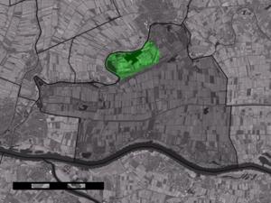 Heukelum - Image: Map NL Lingewaal Heukelum