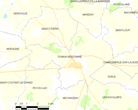 Map commune FR insee code 17448.png