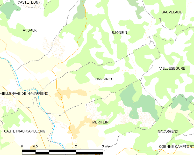 File:Map commune FR insee code 64099.png