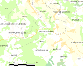 Map commune FR insee code 64458.png