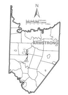 Map of Applewold, Armstrong County, Pennsylvania Highlighted.png