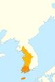 Map of Baekje (4C).png