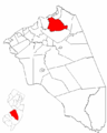 Map of Burlington County highlighting Mansfield Township.png
