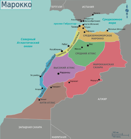 Map of Morocco ru.png
