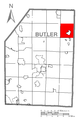 Map of Parker Township, Butler County, Pennsylvania Highlighted.png