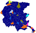 Mappa Friuli-Partiti per comune 2018.png