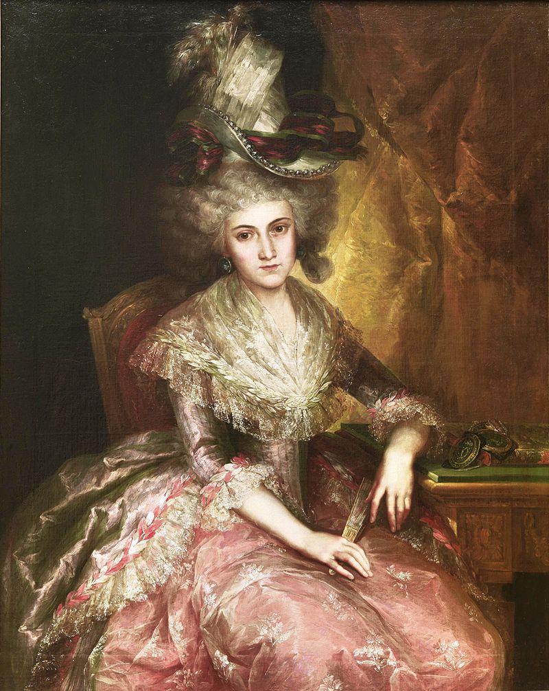Marнa Pilar de la Cerda y Marнn de Resende, duquesa consorte de Nбjera (Museo del Prado).jpg
