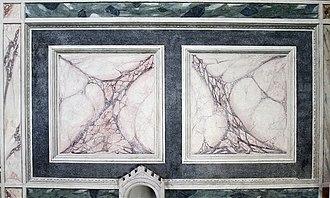 Marbleizing - Giotto, Scrovegni Chapel.