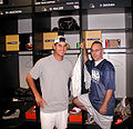 Marc Bulger in Rams locker room 2004-10-07.jpg