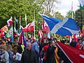 March for Welsh Independence arranged by AUOB Cymru First national march; Wales, Europe 14.jpg