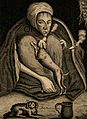 Margaret Finch, aged 108. Line engraving. Wellcome V0007090.jpg