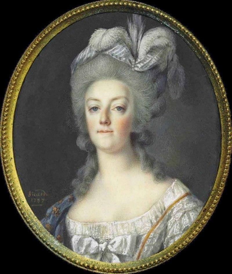 Marie Antoinette by Sicard