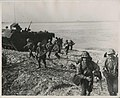 Marines rush the beach in Okinawa (SC 117655), National Museum of Health and Medicine (3430044504).jpg