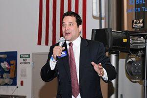 Mark Levine (journalist) - Levine speaking in Alexandria, 2014
