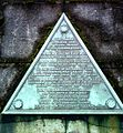 Marker on Masonic Crypt of Major Eugene C. Lewis.jpg