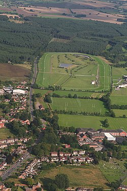 Market Rasen De Aston School and the Racecourse (aerial) (geograph 3125732).jpg