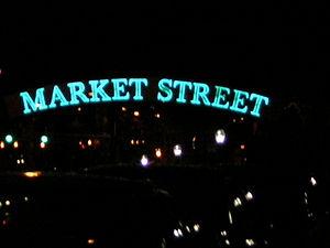 Market Street (Philadelphia) - Market Street sign