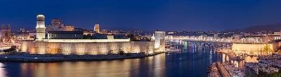 Marseille Vieux Port Night
