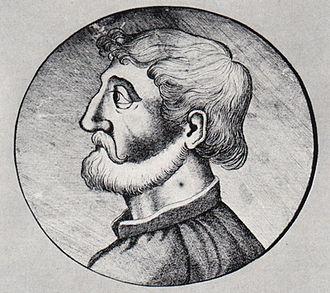 Marsilius of Inghen - Marsilius of Inghen, copy from the 18th century of a Renaissance woodcut