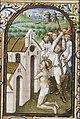 Martyrdom of St. Eutropius of Saintes - Book of hours Simon de Varie - KB 74 G37 - 078v min.jpg