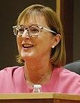 Mary A. Throne en el Foro de Candidatas a las Elecciones Generales de la Liga de Mujeres Votantes del Condado de Campbell en Gillette, Wyoming (recortado) .jpg