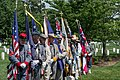 Maryland Sons of Confederate Veterans color guard 02 - Confederate Memorial Day - Arlington National Cemetery - 2014.jpg