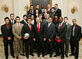 Maryland men's soccer team at the White House 2006-04-06.jpg