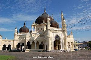 Zahir Mosque - Image: Masjid zahir, alor setar