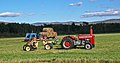 Massey Ferguson 230, hay rakes and round bales in New Hampshire.jpg
