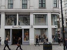 Massimo Dutti, Oxford Street, London, March 2016 01.jpg