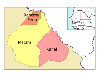 Location in the Matam Region