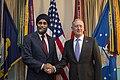 Mattis meets with Sajjan (31911350164).jpg