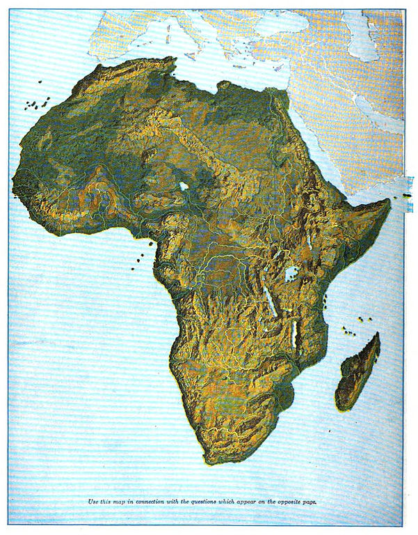 a geography of africa Take students in grades 5 and up on a field trip without leaving the classroom using world geography puzzles in this 80-page book, students explore the five themes.