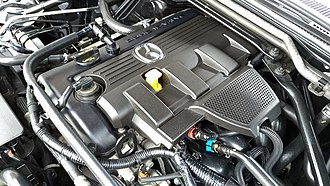 Mazda MX-5 (NC) - Mazda MX-5 NC 2.0 L MZR LF-VE engine