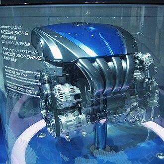 SkyActiv - Image: Mazda SKY G in Tokyo Motor Show 2009