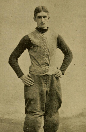 Malcolm McBride - McBride pictured in The Official National Collegiate Athletic Association football guide, 1899