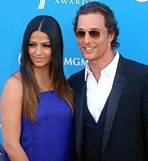 Camila Alves & Matthew McConaughey