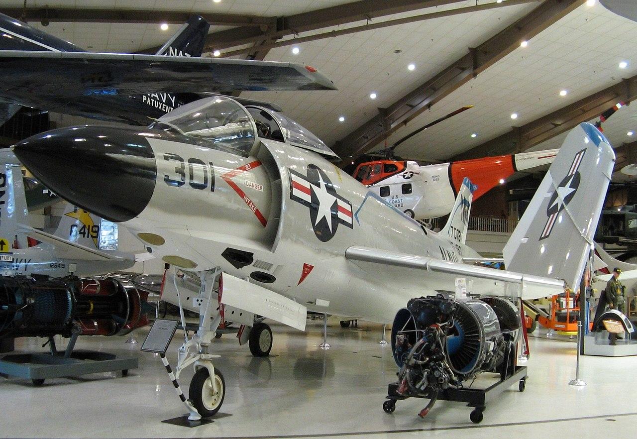 File:McDonnell F3H Demon, Naval Aviation Museum, Pensacola ...