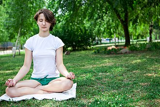 Shvetashvatara Upanishad - Yoga meditation under shady trees and silent surroundings is recommended in Shvetashvatara Upanishad.