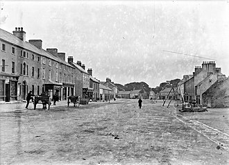 Moate - Main Street, Moate c1910s
