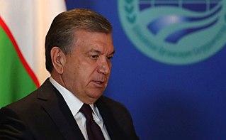 Presidency of Shavkat Mirziyoyev