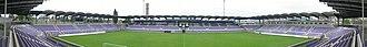 Szusza Ferenc stadion - Image: Megyeri ut