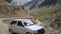 Mehran Car At Lowari Pass Travelling To Chitral.jpg