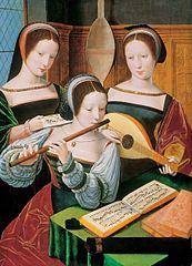 Three Female Musicians