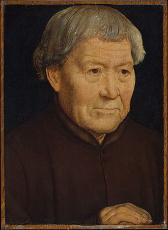 Portrait of an Elderly Woman - Portrait of an Elderly Man, Hans Memling, 1475 or thereabouts