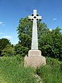 Memorial Cross opposite Northington Church (geograph 2430546).jpg