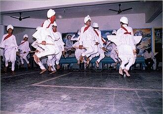 Sword dance - Mer Dandiya, a sword dance performed by the communities of Saurashtra