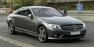 Mercedes-Benz CL-Class Motor vehicle