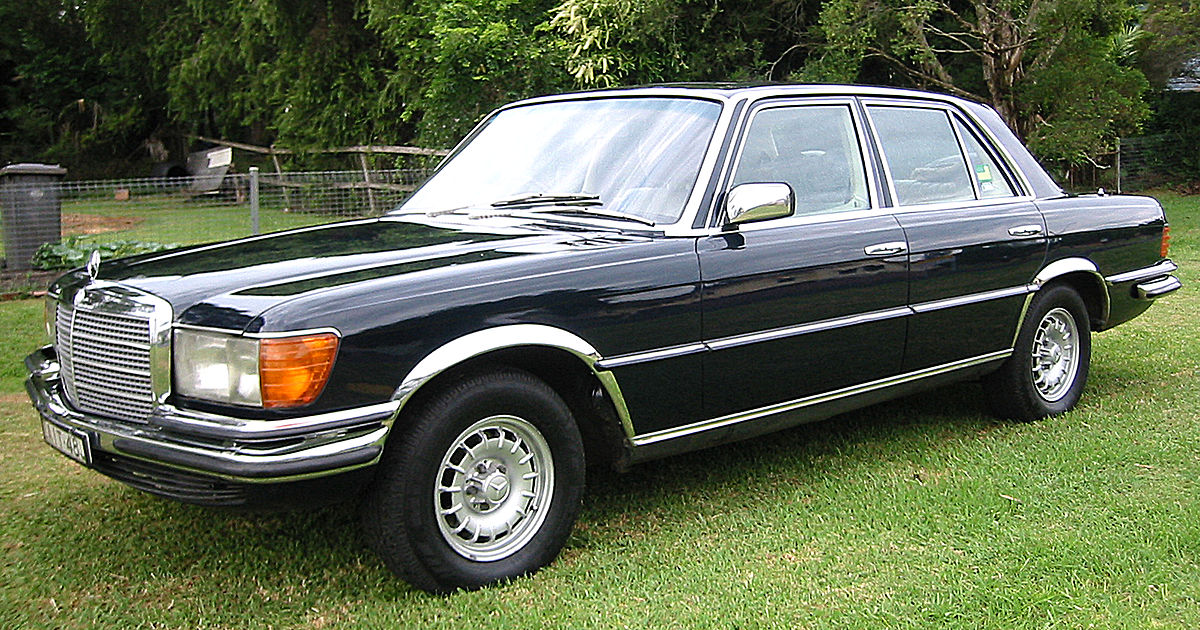 mercedes benz w116 wikipedia wolna encyklopedia. Black Bedroom Furniture Sets. Home Design Ideas