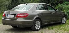 Mercedes E 350 CDI BlueEFFICIENCY Elegance (W212) rear-1 20100822.jpg